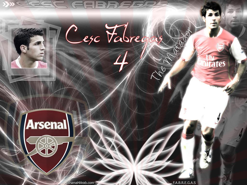 Cesc Fabregas Wallpapers Arsenal Football Players English Premier League