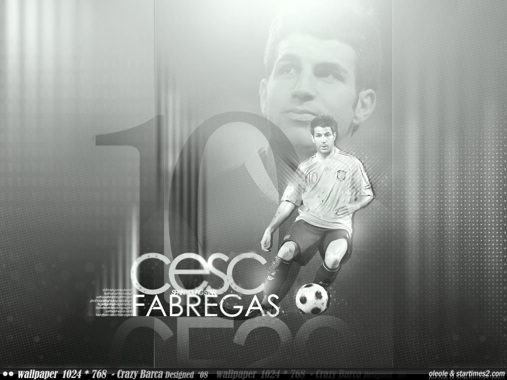 Cesc Fabregas Wallpapers Arsenal Football Players English Premier League