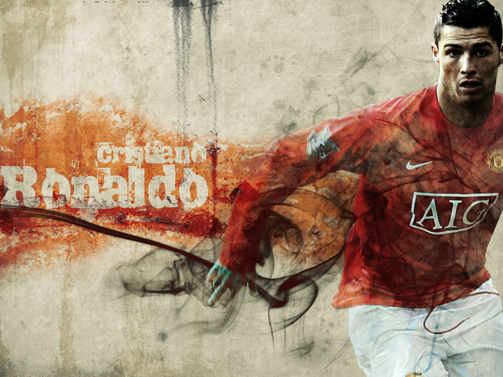 1024x768 Cristiano Ronaldo Wallpapers Manchester United   Download