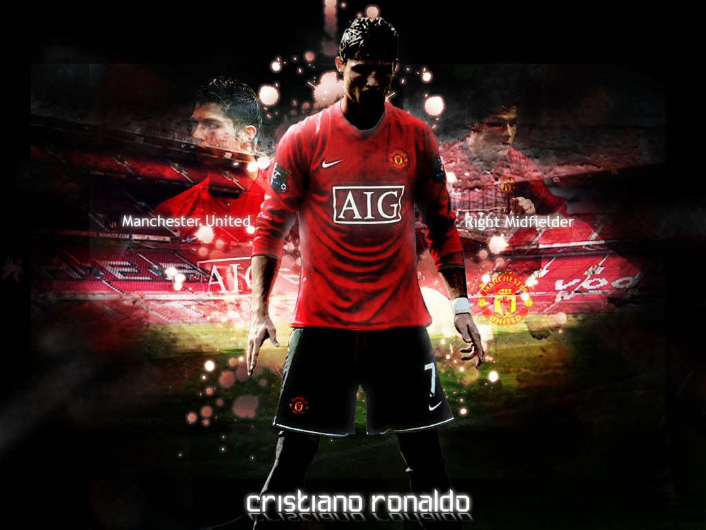 Free Football Wallpapers 1024x768 Cristiano Ronaldo Wallpapers