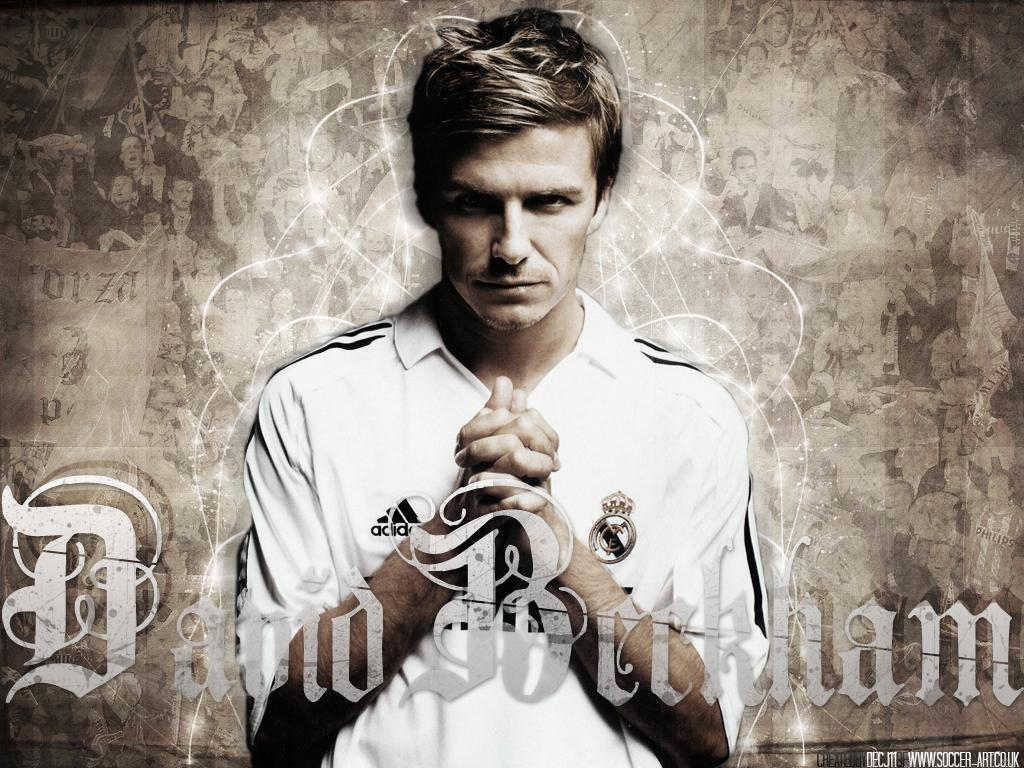 david beckham real madrid FC Wallpapers MySpace Layouts MySpace Icons