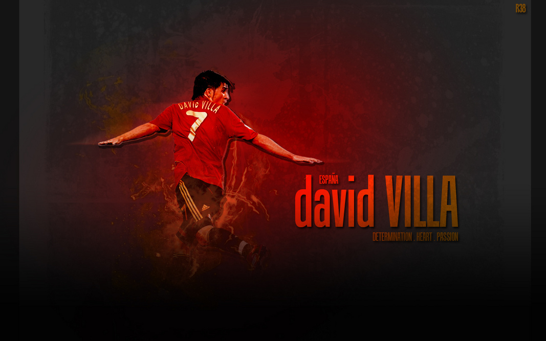 world cup,world cup 2010, South Africa, football, soccer,David-Villa-Wallpaper-Spanyol