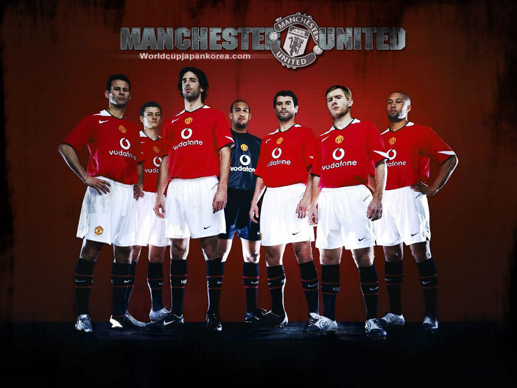 Manchester United Wallpapers MUFC MySpace Layouts English Premier League