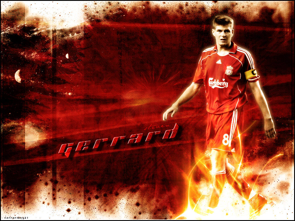 Steven Gerrard Wallpapers Liverpool Football Players English Premier League