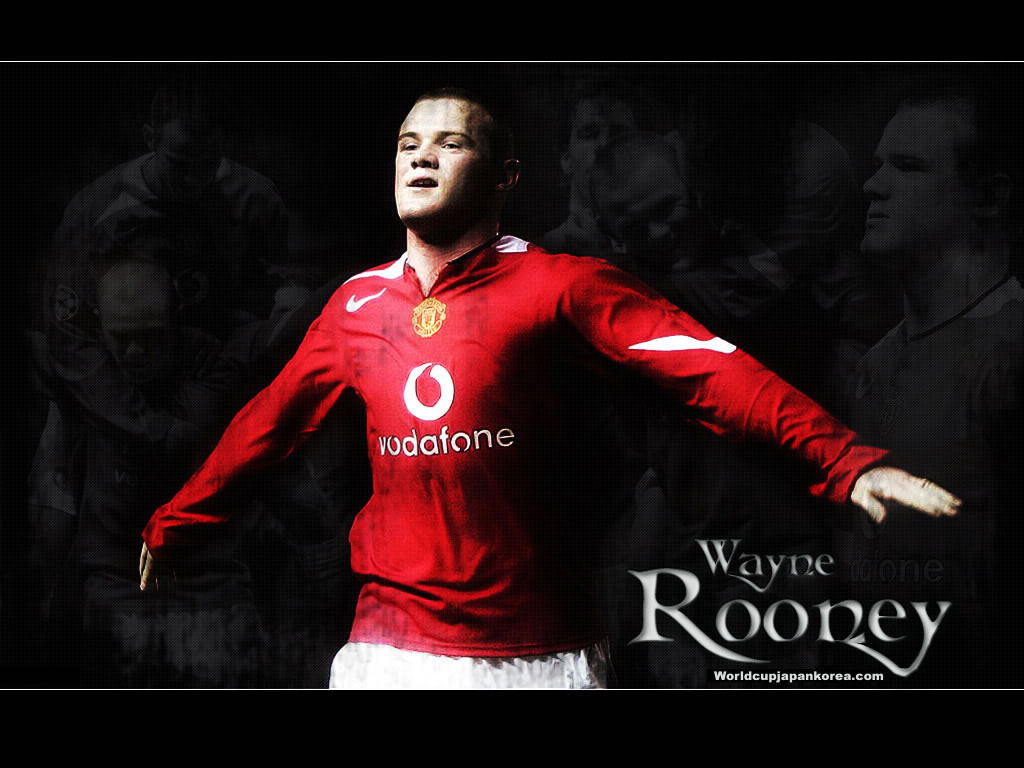 Wayne Rooney Wallpapers Manchester United