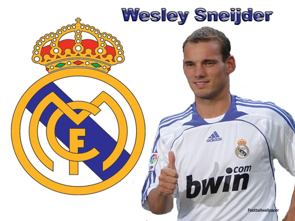 wesley sneijder real madrid FC Wallpapers MySpace Layouts MySpace Icons